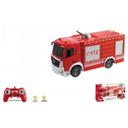 Voiture RC Camion de pompiers radiocommandé - 1/26 de mondo motors idée cadeau anniversaire noel neuve