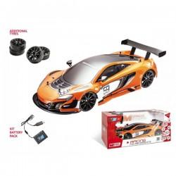 Voiture R/C collection Mclaren Drifting GT3 avec Batterie Rechargeable 1/10 ème idée cadeau anniversaire noel neuf