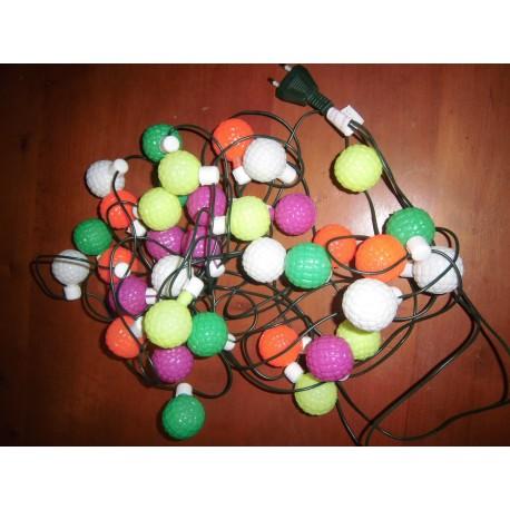 Décoration diverses guirlande électrique multicolore neuve emballée