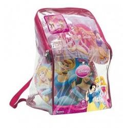 Lot 3 pièces Princesse disney Sac + Poncho serviette de bain + ballon 23 cm idée cadeau anniversaire noel neuf