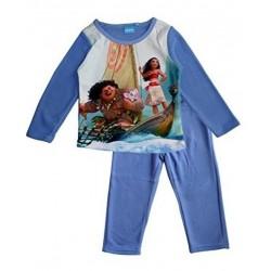 Ensemble pyjama polaire Vaiana fille bleu du 3 au 8 ans ENFANT FILLE VETEMENT LICENCE OFFICIELLE DISNEY NEUF