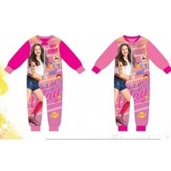 Pyjama polaire Combinaison Soy Luna du 4 au 12 ans ENFANT FILLE VETEMENT SOUS LICENCE OFFICIELLE DISNEY NEUF