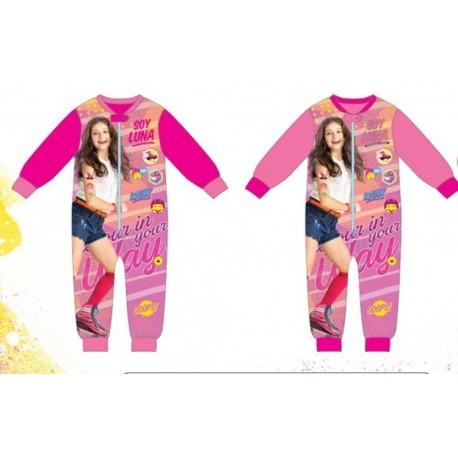 Pyjama polaire Combinaison Soy Luna du 4 au 12 ans ENFANT FILLE VETEMENT SOUS LICENCE OFFICIELLE NEUF