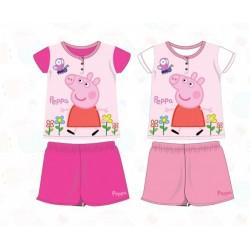 Pyjama Court 2 pièces Peppa Pig du 2 au 6 ans ENFANT FILLE VETEMENT SOUS LICENCE OFFICIELLE NEUF