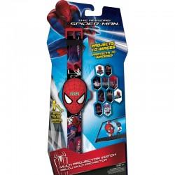 Montre projecteur Spider man 4 - 3D - 10 hologrammes idée cadeau anniversaire NOËL neuve