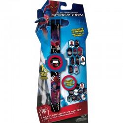 Montre projecteur Spiderman avec 20 hologrammes différents à projeter idée cadeau anniversaire NOEL neuve