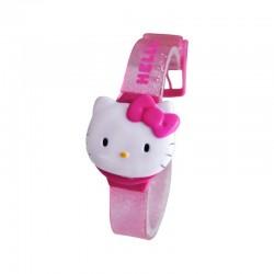 Montre Hello Kitty digitale Bracelet Plastique enfant fille 3 ans + idée cadeau anniversaire NOEL neuve