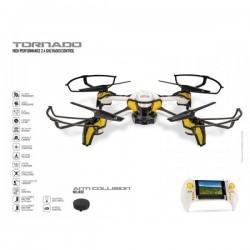 Drone ULTRADRONE TORNADO - BLACK SERIES CAMERA WI-FI idée cadeau anniversaire NOËL neuf