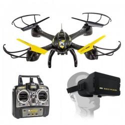 Drone Pro UltraDrone VR MASK X40.0 + CASQUE VIRTUELLE Mondo idée cadeau anniversaire NOËL neuf