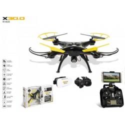 Drone UltraDrone VR MASK X 30.0 CAMERA + CASQUE VIRTUELLE MONDO idée cadeau anniversaire NOËL neuf