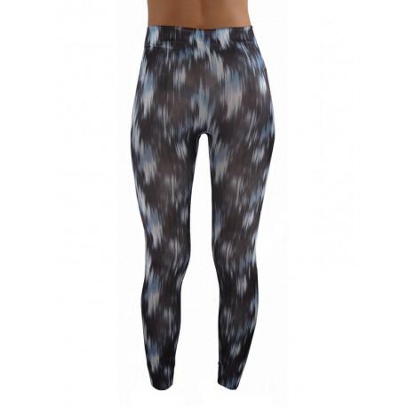LEGGINGS fin tacheté Bleu vêtement femme pantalon mode fashion neuf