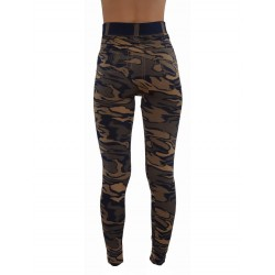 LEGGINGS hyper confort camouflage vêtement femme pantalon mode fashion neuf