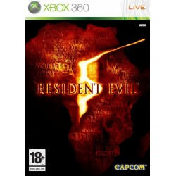 Jeu video Resident evil 5 sur XBOX 360 OCCASION
