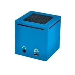 MINI HAUT PARLEUR BLUETOOTH DAEWOO DBT 1003 BLEU ORDINATEUR PC STATION MP3 IDÉE CADEAU ANNIVERSAIRE NOËL NEUVE