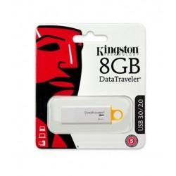 CLE USB 8 GIGA KINGSTON DATATRAVELER INFORMATIQUE BUREAUTIQUE NEUF SOUS BLISTER