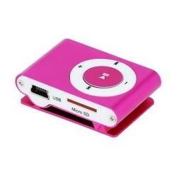 LECTEUR MP3 + ECOUTEURS SETTY ROSE MUSIQUE AUDIO IDEE CADEAU ANNIVERSAIRE NOEL NEUF