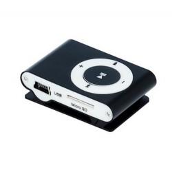 LECTEUR MP3 + ECOUTEURS SETTY NOIR MUSIQUE AUDIO IDEE CADEAU ANNIVERSAIRE NOEL NEUF