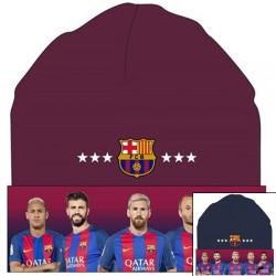 Bonnet hiver fan de foot Barcelone adulte ados licence officielle Idée cadeau anniversaire noel neuf
