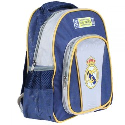 Sac a dos cartable Real Madrid 27x31x10 cm FOOT ENFANT SCOLAIRE NEUF