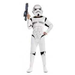 Déguisement Stormtrooper Star Wars adulte taille unique carnaval anniversaire fete NEUF