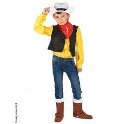 Déguisement Lucky Luke enfant garcon du 3 au 12 ans carnaval anniversaire fete neuf