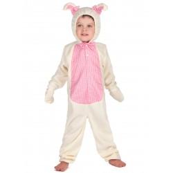 Déguisement lapin combinaison bébé enfants 1/2 ans ou 2/4 ans carnaval anniversaire fete neuf