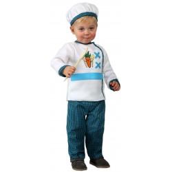 Déguisement cuisinier bébé du 0/6 mois ou 1/2 ans carnaval anniversaire fete neuf
