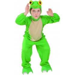 Déguisement combinaison grenouille enfant du 4 au 12 ans carnaval anniversaire fete neuf