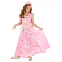 Déguisement princesse rose enfant du 4 au 12 ans carnaval anniversaire fete neuf