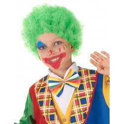 Perruque clown enfant verte Déguisement carnaval anniversaire fete neuf
