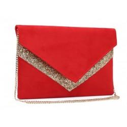 pochette Sac a main enveloppe shopping femme réglable couleurs diverses idée cadeau anniversaire noël NEUF