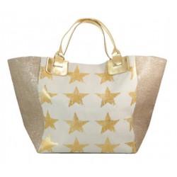 Panier étoiles shopping réglable couleurs diverses idée cadeau anniversaire noël NEUF