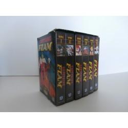 Coffret collector cassette vidéo VHS Capitaine Flam Perfect Collection (Voyages 1 à 6) occasion