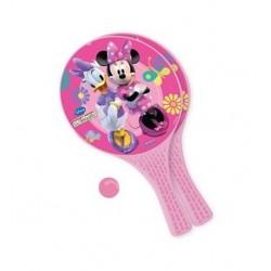 Lot 2 Raquettes de Plage Minnie + 1 balle fille jouet Plein air plage piscine neuf
