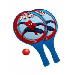 Lot 2 Raquettes de Plage spiderman + 1 balle garcon jouet Plein air plage piscine neuf