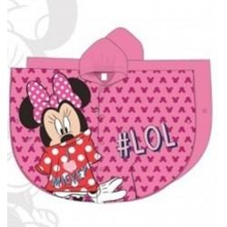 Imperméable cape pluie Minnie Disney fille rose du 2 au 6 ans enfant neuf