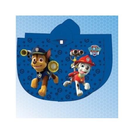 df7c677a42336 Imperméable cape de pluie Pat Patrouille Paw Patrol garcon bleu du 2 au 6  ans enfant