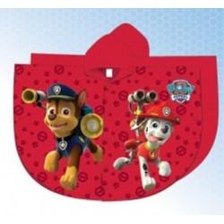 Imperméable cape de pluie Pat Patrouille Paw Patrol garcon rouge du 2 au 6 ans enfant neuf