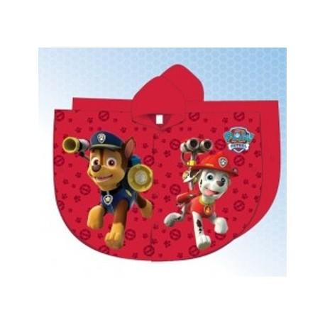 ca48bf4b27564 Imperméable cape de pluie Pat Patrouille Paw Patrol garcon rouge du 2 au 6  ans enfant
