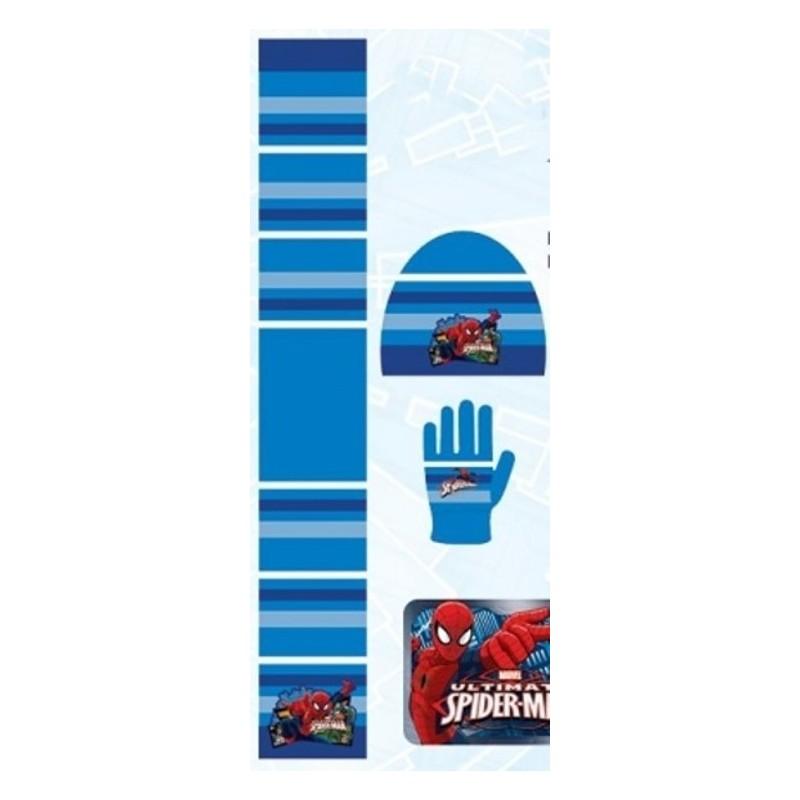 Set 3 pièces Bonnet + écharpe + gants Spiderman Marvel enfant garcon neuf.  Loading zoom f91c7d73a67