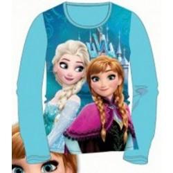 T-shirt manches longues la reine des neiges bleu du 2 au 6 ans licence officielle Disney FILLE VETEMENT NEUF