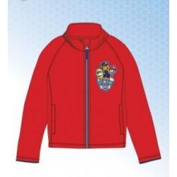 Veste Polaire Sweat zippé rouge pat patrouille Paw Patrol du 2 au 6 ans licence officielle enfant GARÇON VÊTEMENT NEUF
