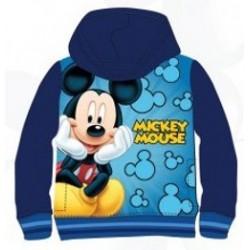 Sweat Mickey à capuche bleu marine avec 2 poches du 3 au 8 ans licence officielle Disney enfant GARCON VETEMENT NEUF
