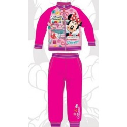 Ensemble Jogging Minnie fuchsia licence officielle Disney du 3 au 8 ans FILLE VETEMENT NEUF