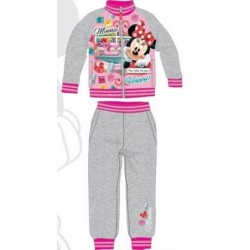 Ensemble Jogging Minnie gris licence officielle Disney V02 du 3 au 8 ans FILLE VETEMENT NEUF