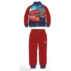 Ensemble Jogging Cars Disney Flash Mc Queen rouge du 2 au 6 ans licence officielle Disney GARCON VETEMENT NEUF