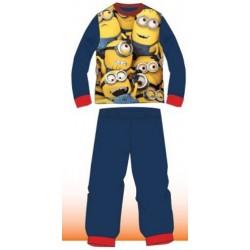 Ensemble Pyjama coton 2 pièces Les Minions bleu du 4 au 12 ans GARÇON VÊTEMENT SOUS LICENCE OFFICIELLE NEUF