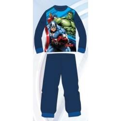 Ensemble Pyjama Long Avengers bleu du 3 au 8 ans GARCON VETEMENT SOUS LICENCE OFFICIELLE MARVEL NEUF