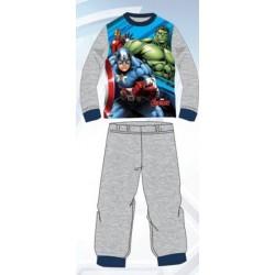 Ensemble Pyjama Long Avengers gris du 3 au 8 ans GARCON VETEMENT SOUS LICENCE OFFICIELLE MARVEL NEUF