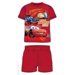 Pyjama Court 2 pièces Cars rouge du 2 au 6 ans GARCON VETEMENT SOUS LICENCE OFFICIELLE DISNEY NEUF